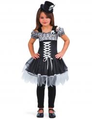 Fröken Skelett - Halloweenkostym för barn