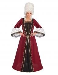 Barock dräkt för baronessa - Maskeraddräkt för vuxna