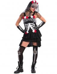 Sexigt rangel - Skelttkostym till Halloween