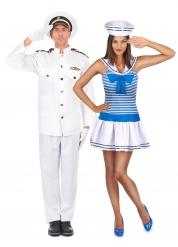 Kapten och matros - Pardräkt för vuxna till maskeraden