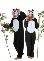 Mysigt pandapar - Pardräkt för vuxna till maskeraden