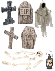 Lyxigt kit i tema skelett - Hallowendekor