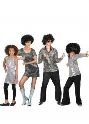 Familjen Disco - Maskeraddräkt för grupp
