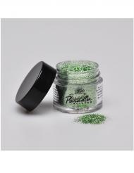 Grönt glitterpulver från Mehron 7g