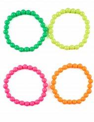 4 armband i flera färger för vuxna
