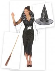 Spindlarnas drottning - Komplett Halloweenkit för vuxna