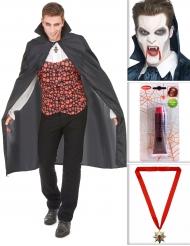 Vampyrkit med massor av tillbehör till Halloween