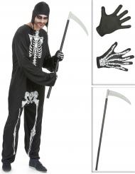 Mr. Skelett - Komplett Halloweenkit för vuxna