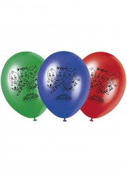 8 Ballonger med tryck av Pyamashjältarna™