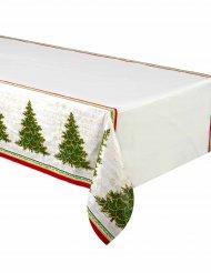 Ståtlig gran - Duk i plast till julfesten 137 x 213 cm