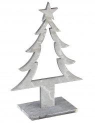 Julgransdekoration av trä