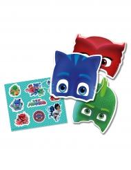 Stickers och masker från Pyjamashjältarna™