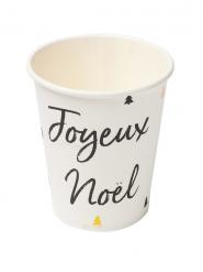 8 muggar Joyeux Noël till glöggen 266 ml