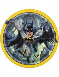 8 kartongtallrikar från Batman™ 23 cm