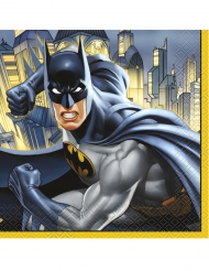 16 pappersservetter från Batman™ 33 x 33 cm