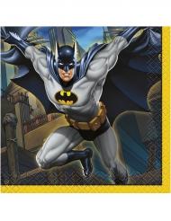 16 servetter i papper från Batman™ 25 x 25 cm