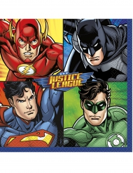 16 servetter från Justice League™ 33 x 33 cm