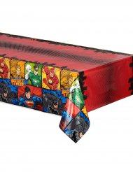 Plastduk till kalaset från Justice League™ 137 x 213 cm