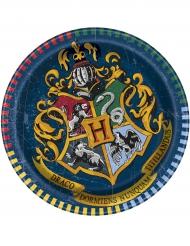 8 kartongtallrikar från Harry Potter™ 18 cm