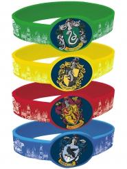 4 elastiska armband från Harry Potter™