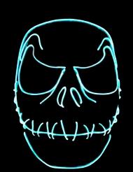 Fågelskrämma i neon - Maskeradmask till Halloween
