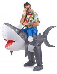 Hajsafari - Uppblåsbar maskeraddräkt för vuxna