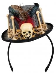 Mini-voodoohatt - Halloweenhattar för vuxna