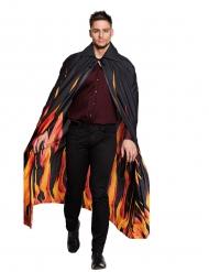 Mantel med eldsflammor vuxen