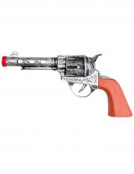 Sheriffpistol med ljud 20 cm