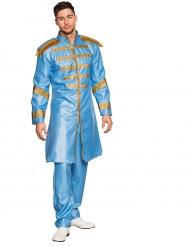 King of pop - Blå dräkt för vuxna
