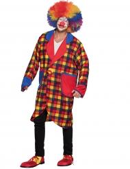 Oversize clownjacka för vuxna till maskeraden