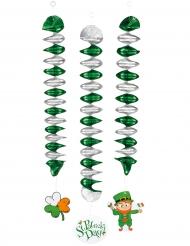 3 Hängande spiraler till St. Patrick