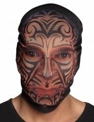Balaclava med tatueringar vuxen