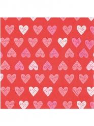 Hjärtan - 12 servetter till festen