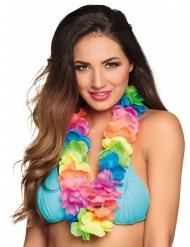 Lyxigt färgglatt Hawaii-halsband