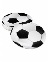 Glasunderlägg till fotbollspartyt 10 cm