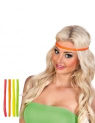 4 Neonfärgade pannband