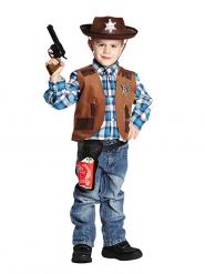 Cowboyväst för barn till maskeraden