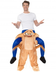 Rider på en kackerlacka - Carry me-dräkt för vuxna