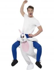 Stark kanin - Carry me-dräkt för vuxna till maskeraden