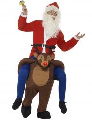 Rider på en ren - Juldräkt för vuxna