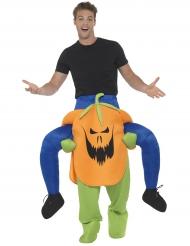 Rider på en bestatt pumpa - Carry me-dräkt till Halloween