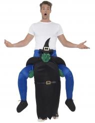 Kidnappad av häxan - Carry-me dräkt till Halloween för vuxna