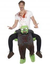 Kidnappad av en zombie - Carry me-dräkt till Halloween