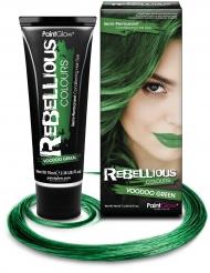 Semipermanent hårfärg i grönt 70 ml