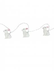 Lysande kaniner - Ljusslinga till påsk