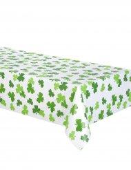 Grön plastduk med trekläver till St. Patrick