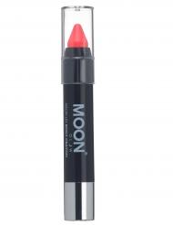 Korallfärgad UV-sminkkrita från Moon glow® 3g