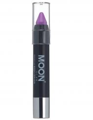 Lila UV-sminkkrita från Moonglow® 3g - Maskeradsmink