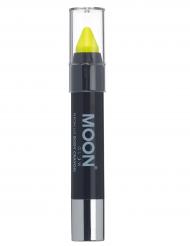 Gul UV-sminkkrita från Moonglow® - Maskeradsmink